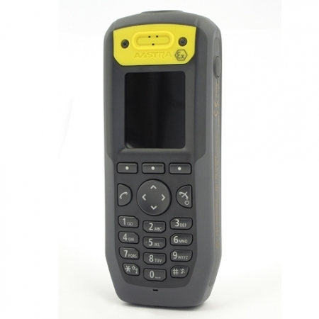 Mitel DT433 ATEX DECT handset - successor to the DT432