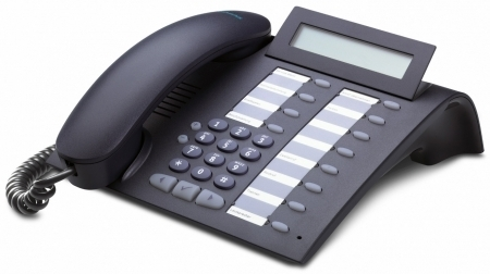 UNIFY (Siemens) optiPoint 410 economy plus mangan IP-Systemtelefon