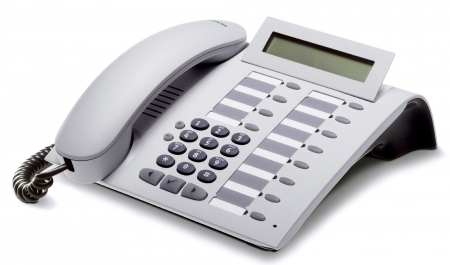 SIEMENS optiPoint 410 standard arctic IP-Phone