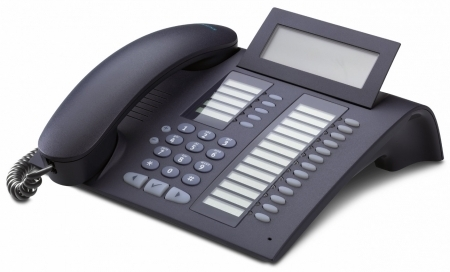 SIEMENS optiPoint 420 advanced mangan IP-Phone with selflabeling keys