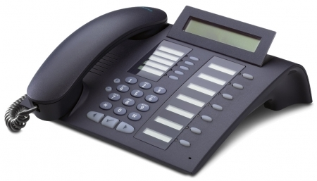 SIEMENS optiPoint 420 standard mangan IP-Phone with selflabeling keys