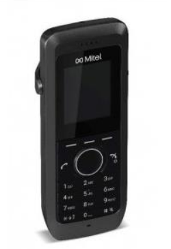 Mitel DECT 5613 handset incl. Clip and battery